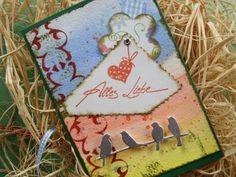 Video-Tutorial: Grußkarte selber basteln / cardmaking - card # 25/2014