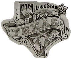 Flowers Texas Style - Texas Silk Ties & Belt Buckles