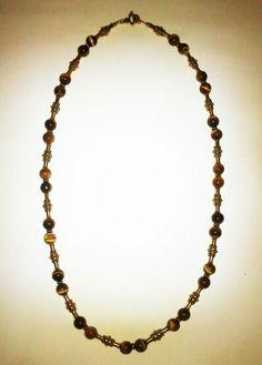 Colar olho-de-tigre II Tiger-eye necklace II