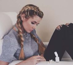 Thick boxer braids by Amber Fillerup
