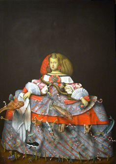 Meninas by Mario Soria, via Behance Art Works, American Art, Pop Art Portraits, Latin American Art, Culture Art, Painting, Art, Contemporary Art, Pop Art