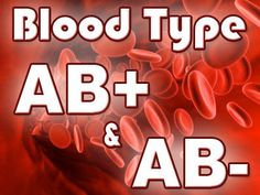 Your blood type may explain why you digest some types of foods better than others. Find out what you should be eating for your blood type if you have AB+ or
