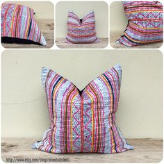 ethnic textile decorative throw pillow case by orientaltribe11 on etsy