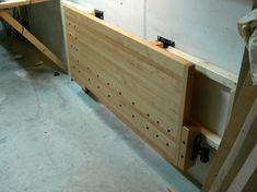 Wall-Mounted Folding Workbench | The Wood Whisperer