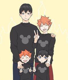 Ugggh! This is so cute!! {credit to owner... taken of insta} Kageyama Tobio, Haikyuu 3, Haikyuu Ships, Kagehina Cute, Haikyuu Volleyball, Volleyball Anime, Kuroken, Manga, Tsukishima X Yamaguchi