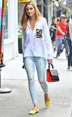 4 Olivia Palermo Outfits - 30 best looks of Olivia Palermo Olivia Palermo Outfit, Estilo Olivia Palermo, Olivia Palermo Jeans, Olivia Palermo Lookbook, Casual Outfits, Fashion Outfits, Fashion Tips, Style Fashion, Fashion Scarves