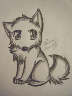 Drawings of animals pencil drawings of anime wolf drawing 4 by sea animal drawings cute . drawings of animals Pencil Sketches Of Animals, Cute Wolf Drawings, Pencil Drawings Of Animals, Easy Cartoon Drawings, Easy Drawings, Drawing Animals, Cute Sketches, Drawing Sketches, Drawing Ideas
