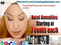 We at Hotel Supplies Depot in USA. Our extensive line includes a vast selection of hotel supplies like blankets, pillows, towels, sheets, spa products, hotel s…