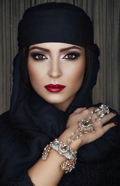 Amo este estilo de maquillaje!