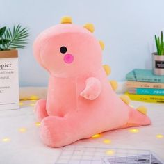 Dino Toys, Dinosaur Toys, Kawaii Plush, Cute Plush, Cute Stuffed Animals, Dinosaur Stuffed Animal, Cute Dinosaur, Plush Dolls, T Rex