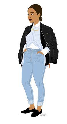 Bomber - Lacoste Cardigan - Gap Chemise - A.W. T-shirt - A.P.C. Jean - Levis Mocassins - Urban Outfitters Pas mal de travail en ce moment, mais je reviens vite promis! On peut aussi se retrouver sur mon insta: sanaakblog :) Little Jinder - Ful Och Trakig...