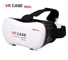 VR BOX, 3D Glasses Virtual Reality Headset 3D Video Movie Game Glasses Kotaku Storm Mirror VR-Case Mobile Phone Glasses. Using a long focal length 33.5 lens with military quality, very good to improve the dizziness of regular 3D glasses.Makes the person who easily dizziness and sickness can enjoy more perfectly.The original 8-layer nano-multilayer coating, laser cutting, repeated 5 times automatic polishing and other military quality requirements, effectively prevent visual fatigue…