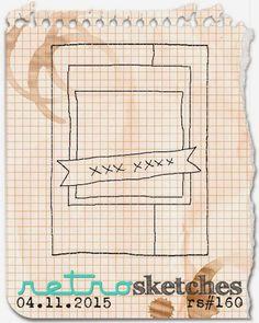 retro sketches : a challenge: retrosketches #160...