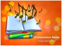 Singing Loud Powerpoint Template Backgrounds  Shape Set Of And