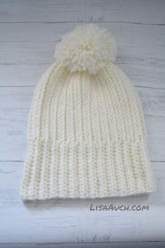 Looks like Knit But its Crochet Warm Cosy Winter Hat (FREE Pattern) You are in the right place about Crochet bolsos Here we offer you. Crochet Baby Hat Patterns, Crochet Beanie Pattern, Crochet Baby Hats, Knit Or Crochet, Free Crochet, Knitted Hats, Crochet Stitches Free, Knitting Patterns, Motifs Beanie