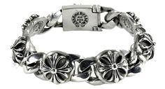 chrome hearts bracelet cross link chrome hearts bracelet cross rink