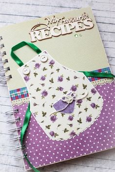 Recipe book organiser
