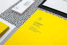 LS Identity. LS is the personal corporate identity of Leta Sobierajski, a multidisciplinary designer living and working in New York City. The identity incl