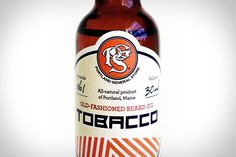 TOBACCO BEARD OIL  Tame your wild beard while coating it in manly fragrance with Tobacco Beard Oil ($70). This all-natural oil is made from jojoba, hempseed, and marula oil, while giving off tobacco and floral scents — perfect for making you smell like a pipe-smoking gardening enthusiast.