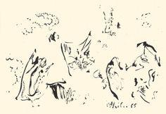 Der Maler Max Weiler 1910-2001 | Kunst - Zeichnungen und Arbeiten auf Papier - Autonomie der Mittel, 1960-1968 Animals, Paper, Middle, Drawing S, Kunst, Animales, Animaux, Animal, Animais