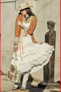 Sleeping Beauty Jacket & Cowgirl dress. bohemian cowgirl