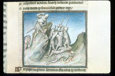 Publius Papinius Statius Thebais , with the argumenta antiqua; Achilleis, Francja, ok. 1405, f31