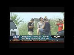 Chrysler Auto Workers Caught Drinking & Smoking Pot...yup! I will NEVER own a Chrysler product! NOT RELIABLE.NOT SAFE! These workers were hired back!! THANKS UAW!! Awesome job keeping people safe!!