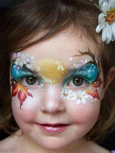 Trucco del viso per Carnevale per bambini da Fata n.4
