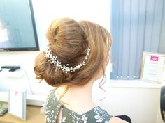 hair vines Brides trial