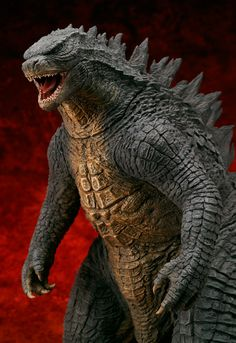 X-Plus Godzilla 2014 Buy for me yes plz love you forever - Chris Dunaway X-Plus Godzilla 2014 Buy fo Godzilla Suit, Godzilla Toys, Godzilla Comics, Lizard Dragon, Monster Pictures, Sea Illustration, Monkey Art, Workout Routine For Men, Drawing Reference Poses