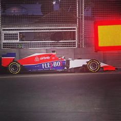 """""""We've had better days."""" Both Marussia cars have needed work with #AlexanderRossi off in #FP1 and #WillStevens off in #FP2. #F1NightRace #F1 #Formula1 #SingaporeGP by f1"""