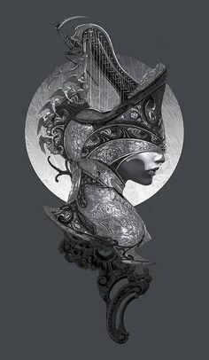 The Requiem -Harp series- by NekroXIII on deviantART