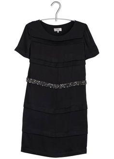 Robe plis religieuses noir by PABLO BY GERARD DAREL
