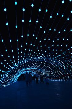 AEPioneer installs an immersive light tunnel in tehran l iranian-based AEPioneer has showcased its latest creation, an long colorful light tunnel installation made up of a total of 13000 light bulbs. Stage Lighting, Neon Lighting, Outdoor Lighting, Lighting Design, Lighting Ideas, Luxury Lighting, Visual Lighting, Light Art Installation, Interactive Installation