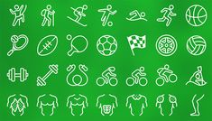 New ideas sport icon app