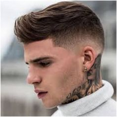 High Contrast Fade Hairstyles for Men