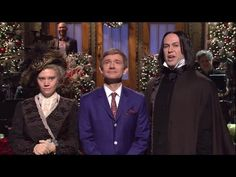 SNL 2014 - Martin Freeman Monologue - He Shares Bunk Bed With Maggie and Alan Rickman. GOD I LOVE THIS MAN