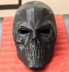 Villainous Prop Shop by VillainousPropShop on Etsy Black Mask 2, Japanese Mask Tattoo, Superhero Art Projects, Viking Armor, Diy Go Kart, Knights Helmet, Arte Robot, Skull Mask, Cool Masks