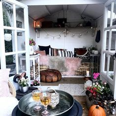 Every thought about how to house those extra items and de-clutter the garden? Building a shed is a popular solution for creating storage space outside the house. Whether you are thinking about having a go and building a shed yourself Storage Shed Kits, Outdoor Storage Sheds, Outdoor Sheds, Shed Building Plans, Shed Plans, Building Ideas, Shed Blueprints, Shed Interior, Interior Design