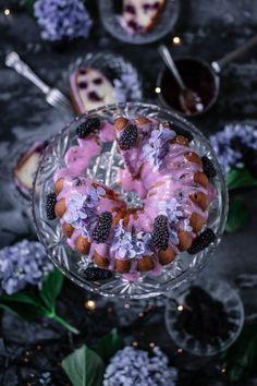 Gluten Free Blackberry Yoghurt Cake