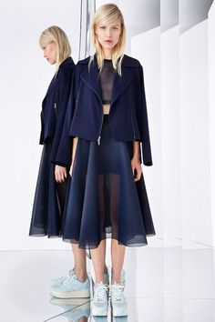 DKNY Resort 2015 Collection - For more like this click on the image or follow us and do not forget to repin!