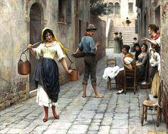 by Eugene de Blaas