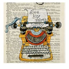 february 1, oxford dictionary debuts in 1884 (dictionary art: laberge on etsy)