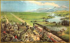 """Vintage 15"""" x 11.75"""" Currier and Ives Quality Print # 21, Suitable for Framing #Vintage"""