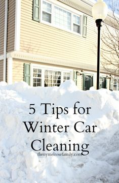 Skip the car wash and do it yourself learn how to detail clean winter car cleaninng solutioingenieria Image collections