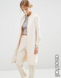 ASOS Tall | Удлиненная куртка‑пилот ASOS TALL Co-ord на ASOS