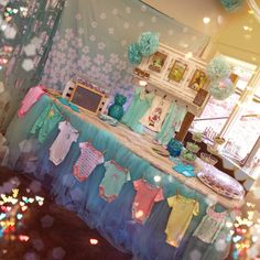 Paislee & Co. Tiffany Blue Baby Shower by Hoʻopunihei & Co.