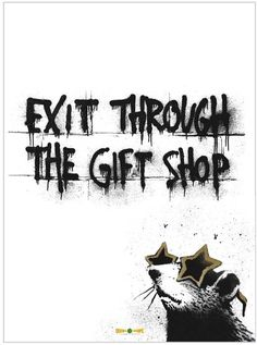 Exit Through the Gift Shop 11x17 Movie Poster (2010)