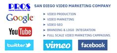 San Diego full video production, video marketing, video SEO, branding & logo integration, whiteboard videos, full scale video marketing campaigns. Call Now