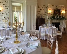 Cilwendeg Mansion House is a private and exclusive luxury stately home in Pembrokeshire which can be hired for events. Beautiful Wedding Venues, Mansions Homes, Beautiful Places, Table Settings, Luxury, Wales, House, Events, Wedding Ideas